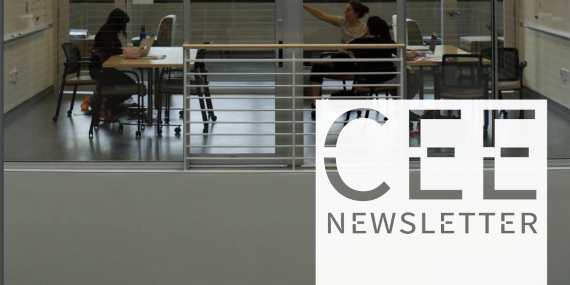 CEE Newsletter Cover