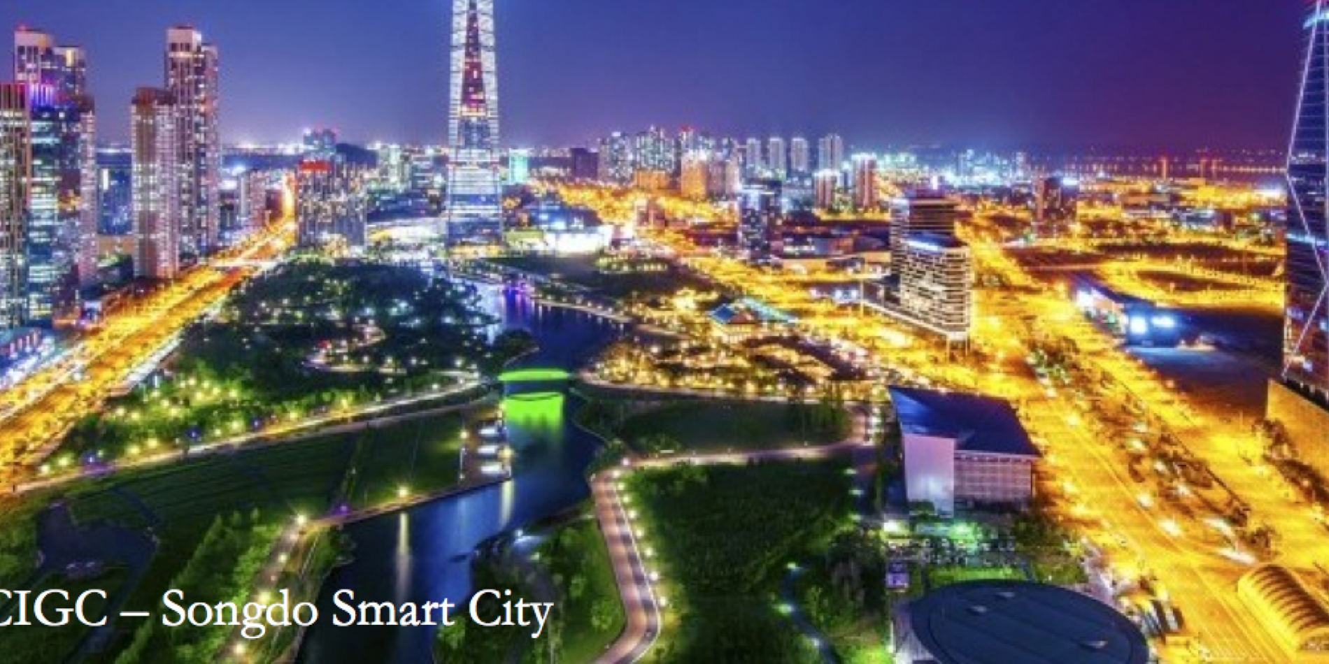 Songdo Smart City