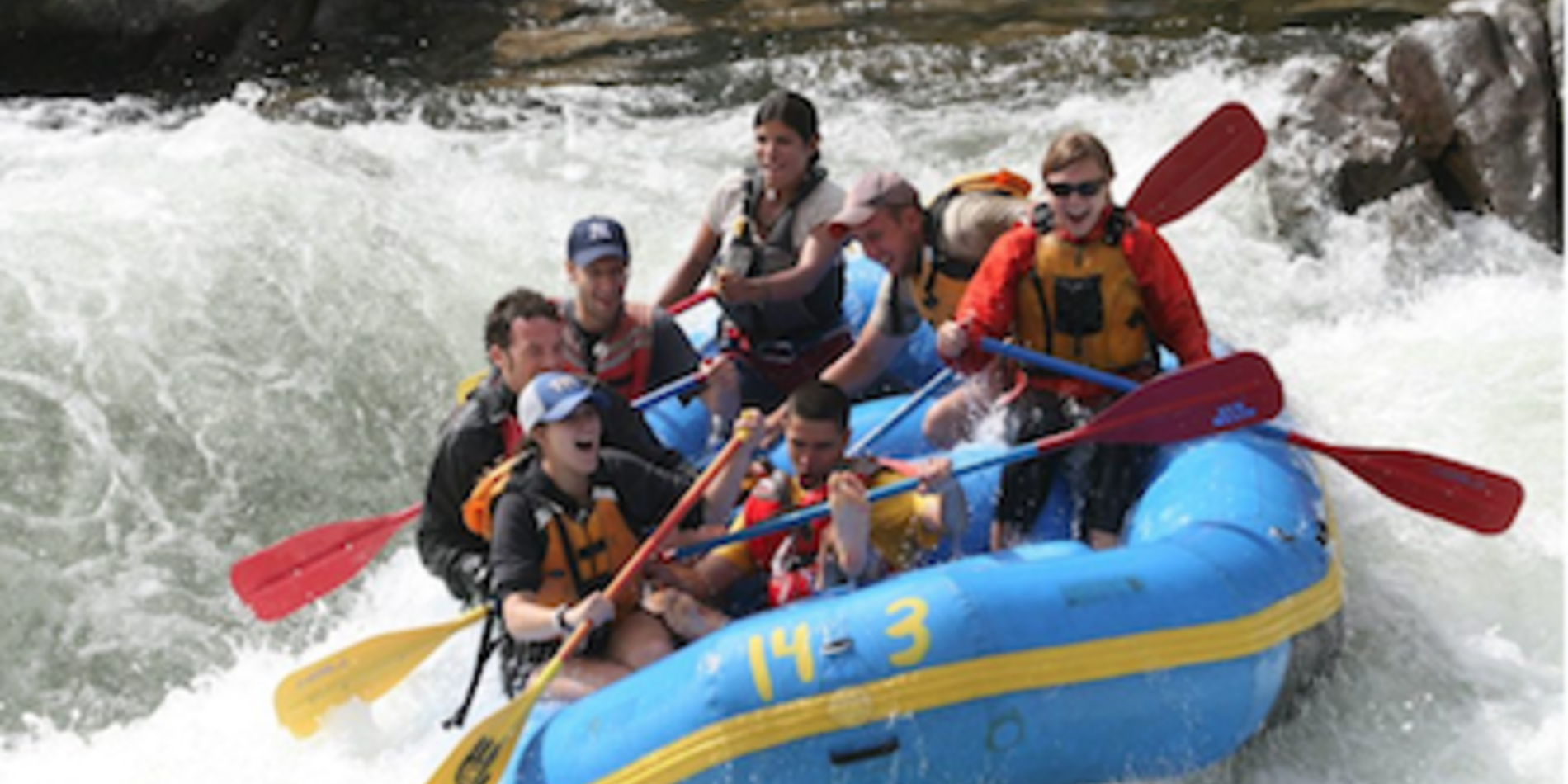 SEG White Water Rafting