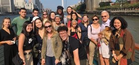 Stanford in New York group photo in Autumn 2019